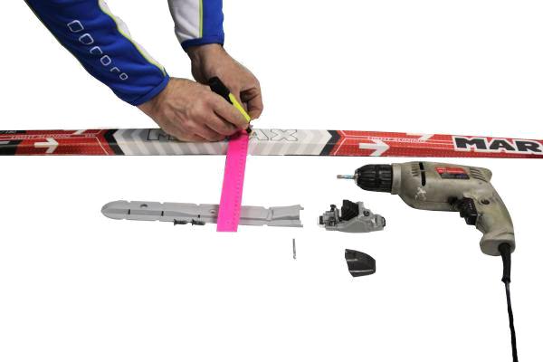 По самостоятельной инструкция горнолыжных установке креплений